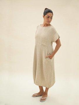 Zii Ropa Carrie Plaid Linen Dress