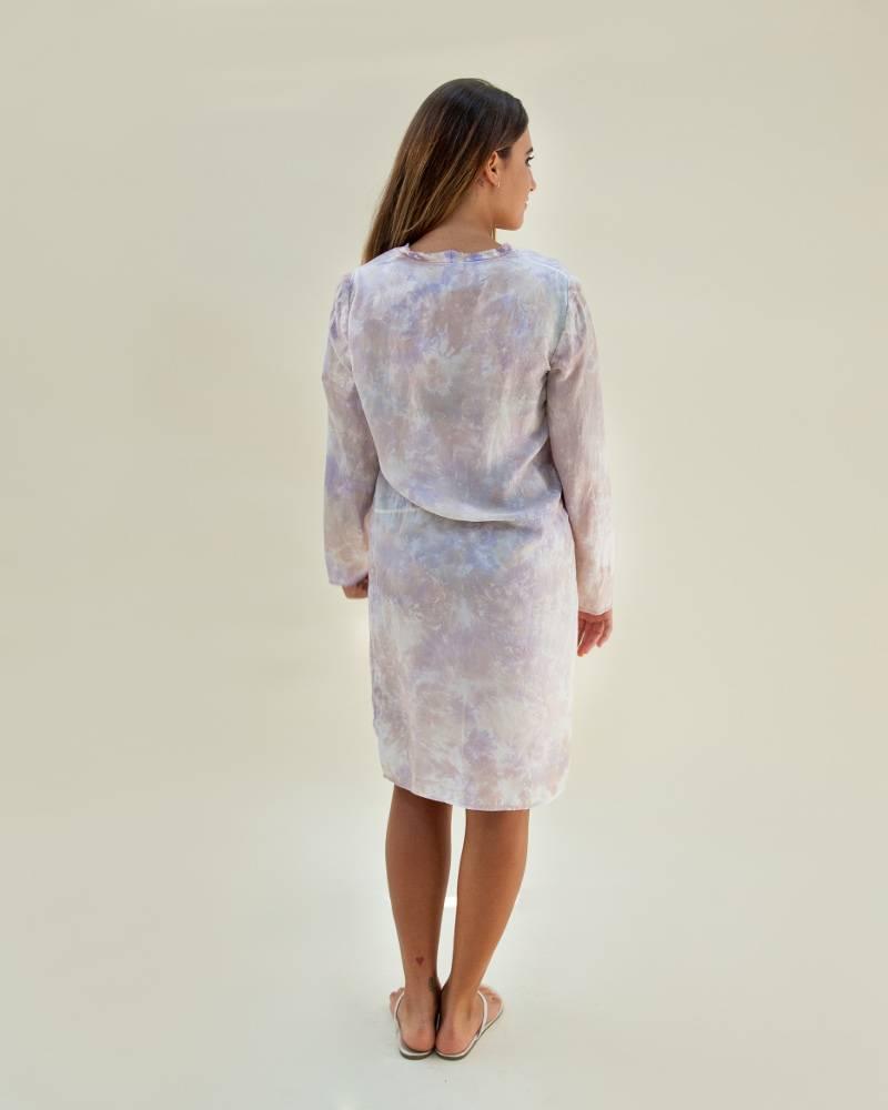 Raquel Allegra Lavender Shift Dress