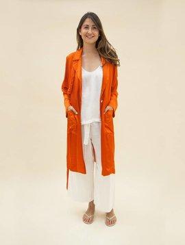 Raquel Allegra Poppy Trench Dress