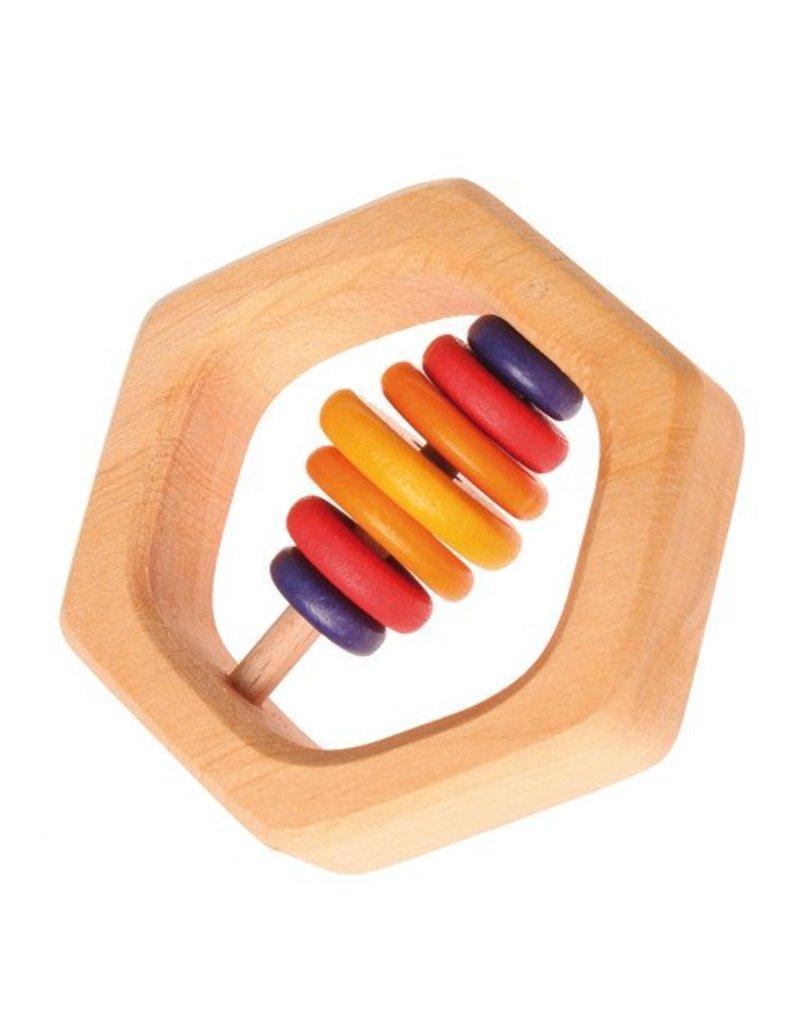 Grimm's GRIMM'S Rattle Hexagonal