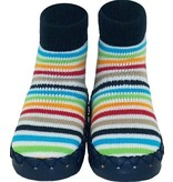 Nowali Nowali Moccasin - Colorful Stripes