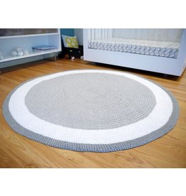 Spot On Square Spot On Square - Trio Crocheted Rug