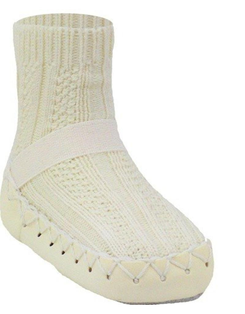 Nowali Nowali Moccasin- Cable Knit