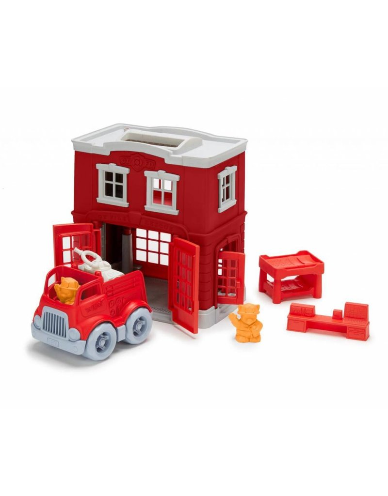 Green Toys Green Toys - Fire Station Play Set