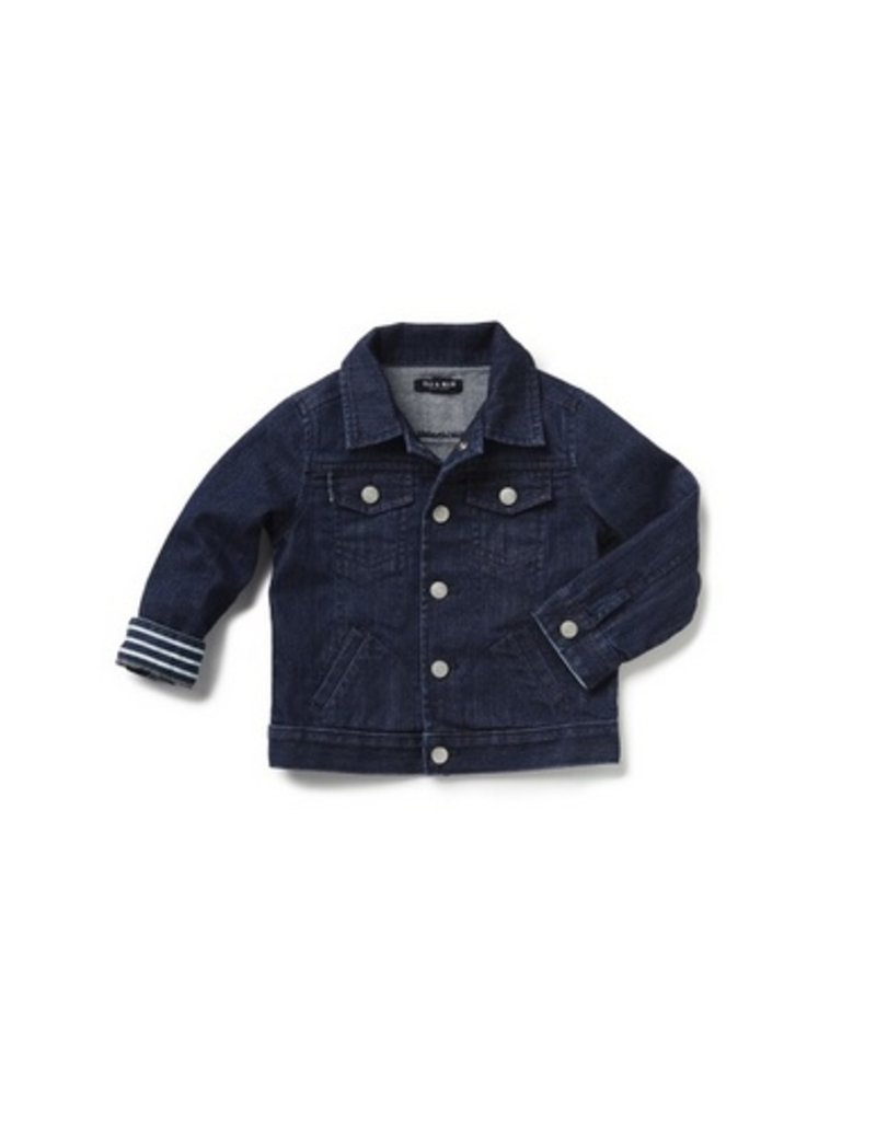Blu & Blue Blu & Blue - B&B Denim Jacket