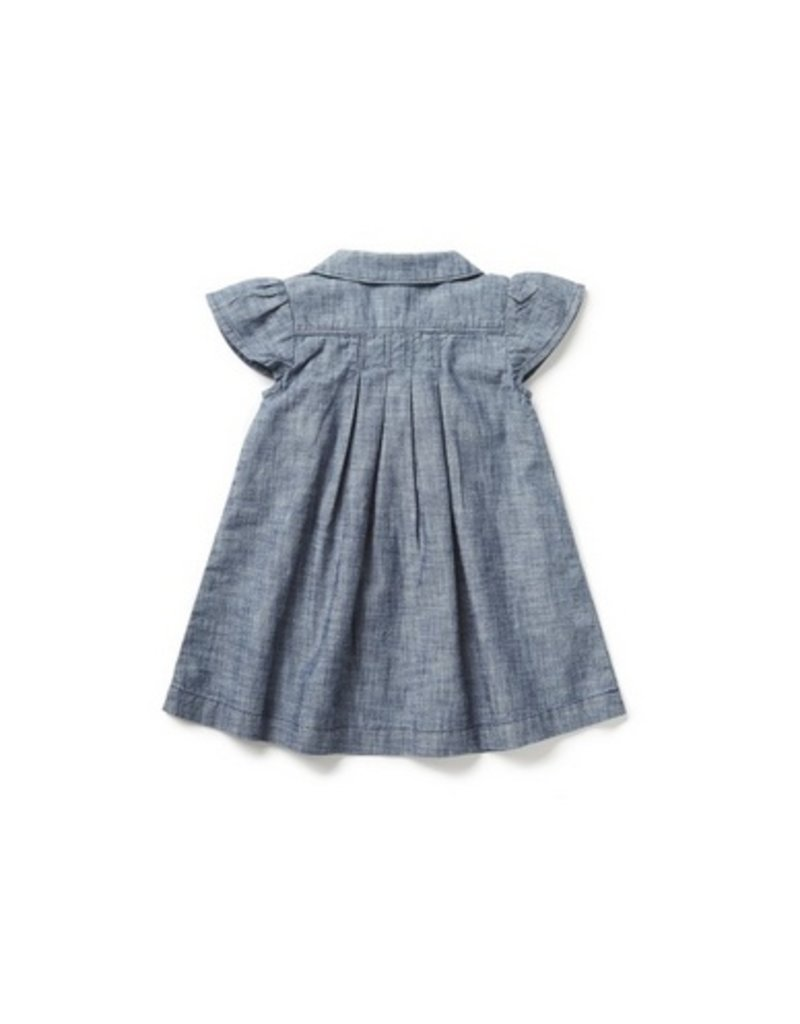 Blu & Blue Blu & Blue - Emma Chambray Dress