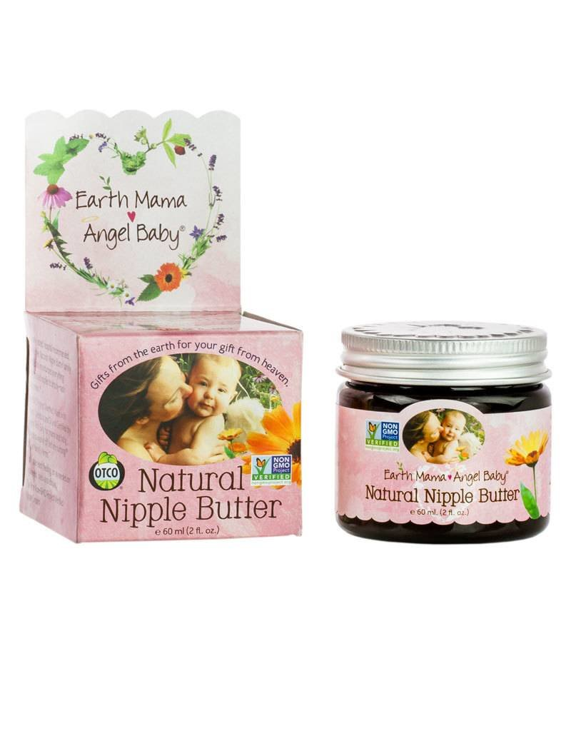 Earth Mama Angel Baby Organics Earth Mama Angel Baby Natural Nipple Butter 2 OZ