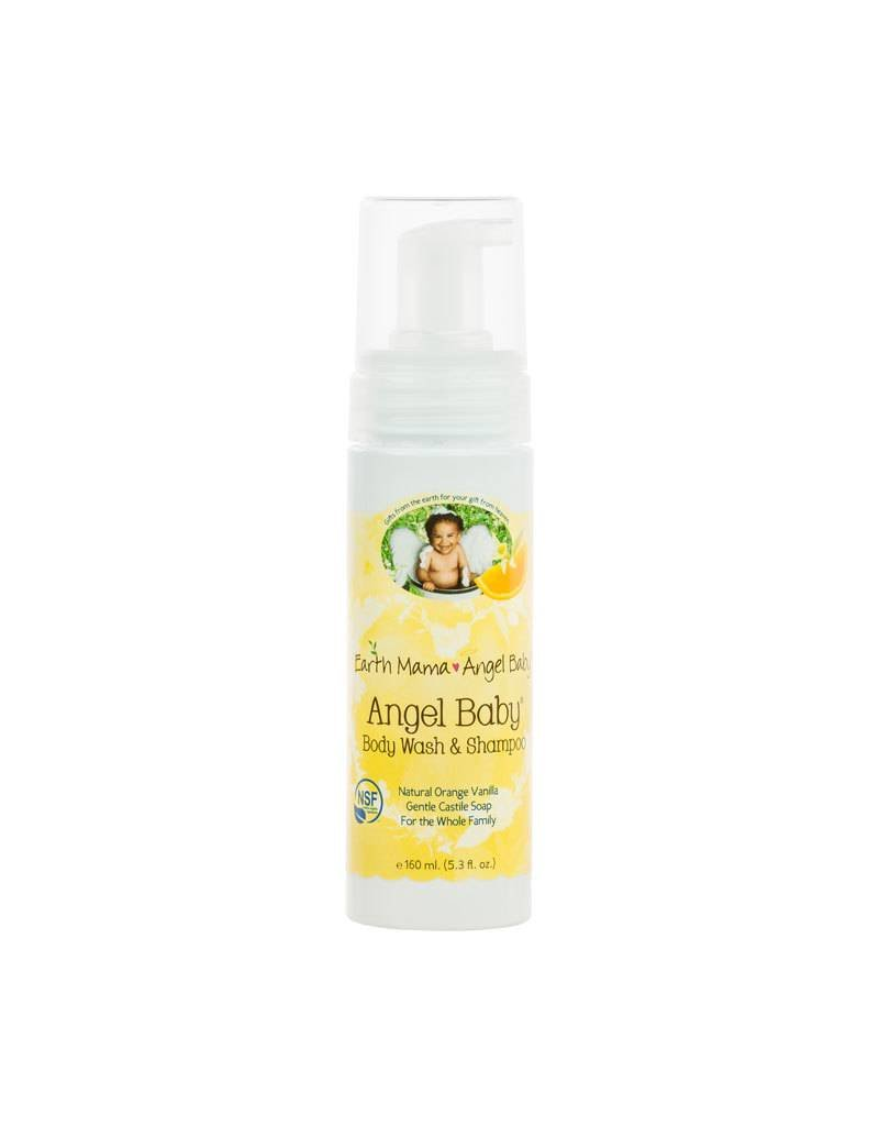 Earth Mama Organics Earth Mama Angel Baby Shampoo & Body Wash - Natural Orange Vanilla 5.3 OZ
