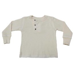 Go Gently Baby Go Gently Nation - Wide Placket Henley