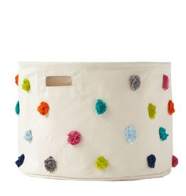 Pehr Designs Petit Pehr - Storage  Pom Pom Multi Medium Drum