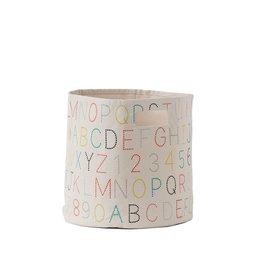 Pehr Designs Petit Pehr - Storage Alphabet Bin
