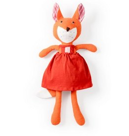 Hazel Village Hazel Village Animals Flora Fox in Red Jumper