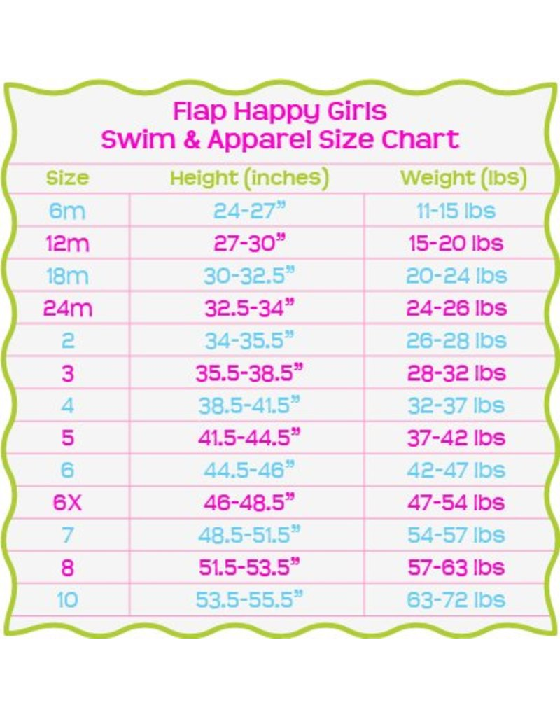 Flap Happy Flap Happy- Ruffle Bathing Suit