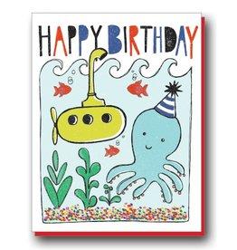 Natalie Eden Natalie Eden Individual Cards Octopus Birthday