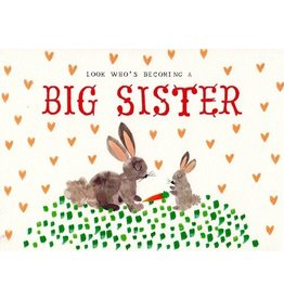 Mr. Boddington's Studio Mr. Boddington's Studio Individual Cards  Bunny Big Sister