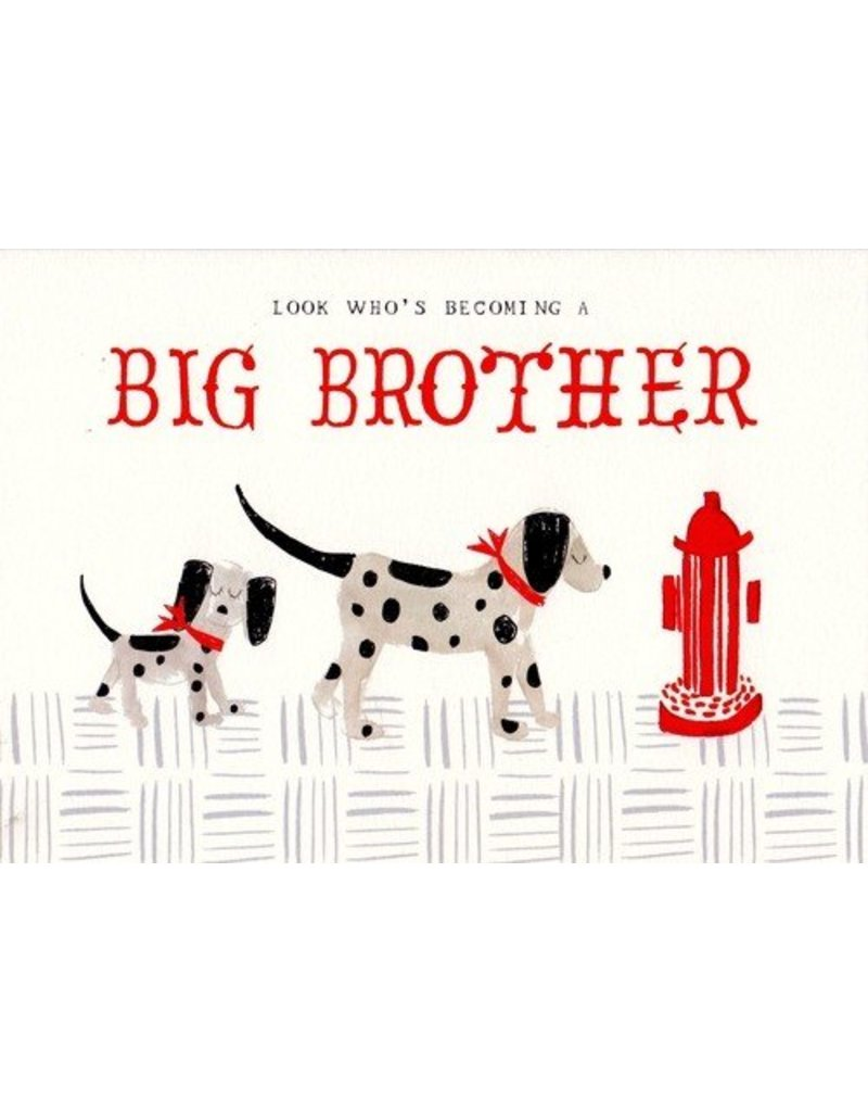 Mr. Boddington's Studio Mr. Boddington's Studio Individual Cards  Dalmation Big Brother