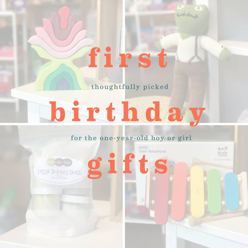 Gender Neutral Gifts for a First Birthday: Megan's Picks
