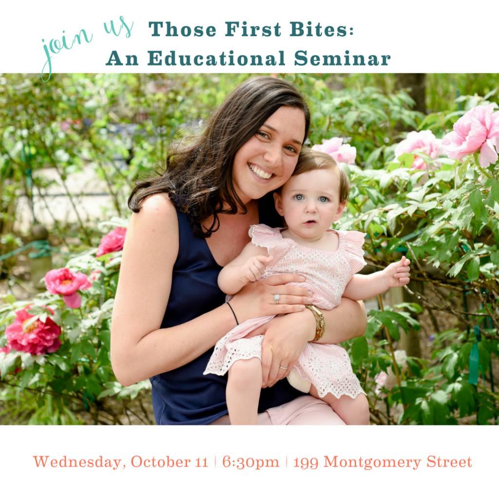 Feeding Seminar - Those First Bites with Alyssa Kane