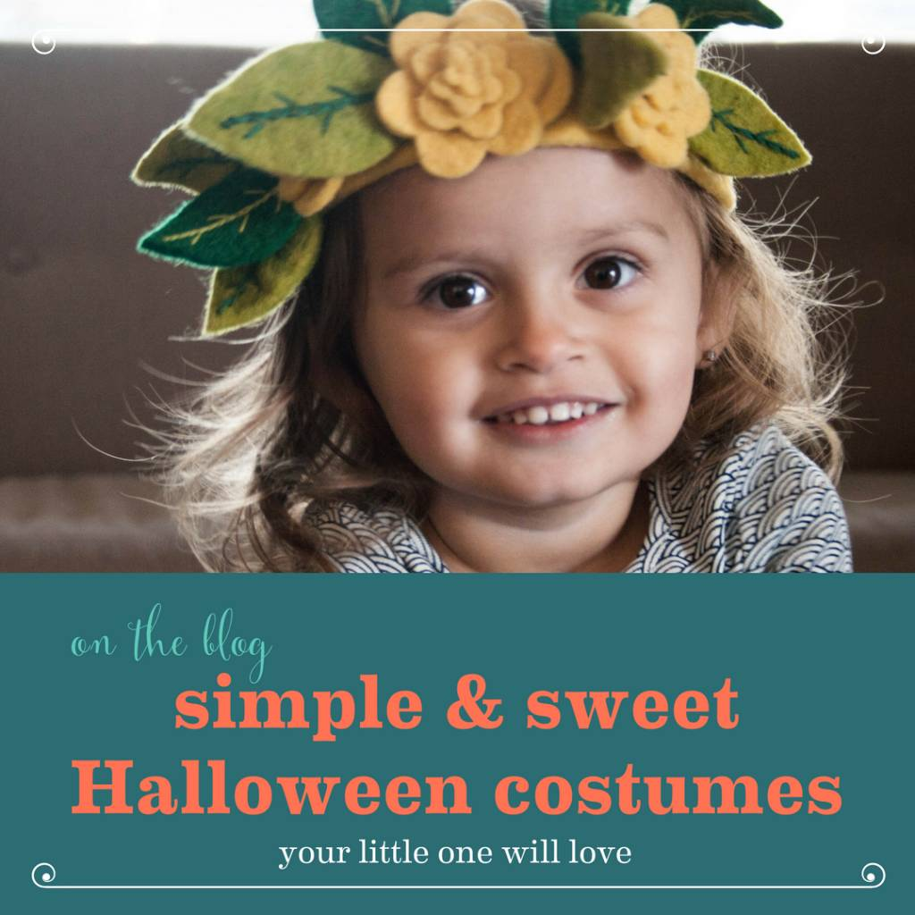 Simple & Sweet Halloween Costume Ideas