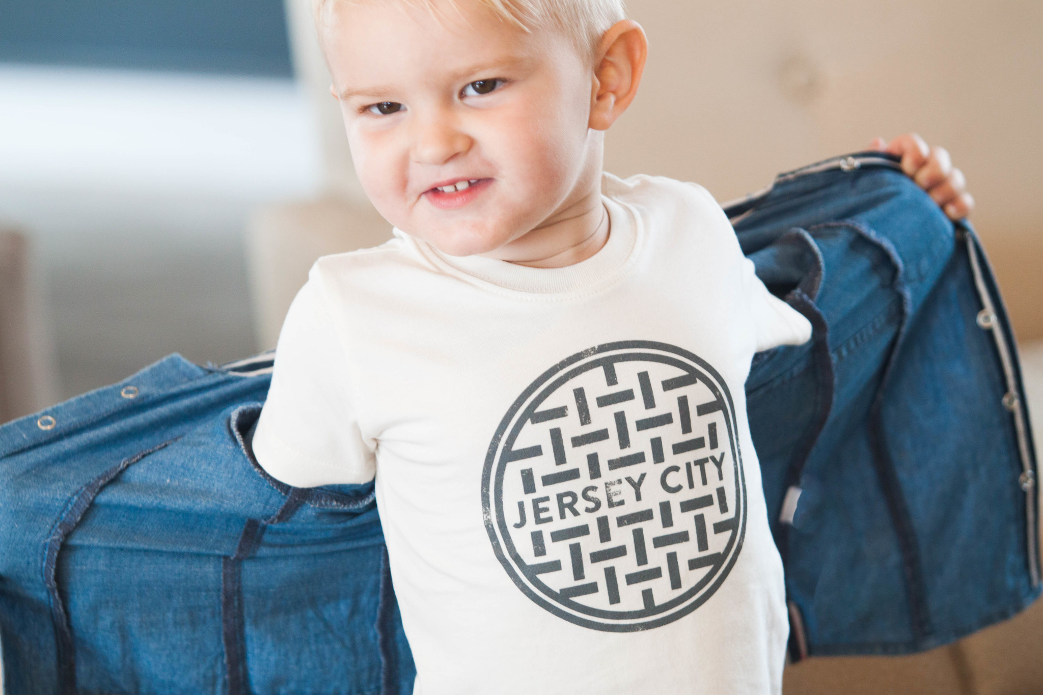 jersey city tee for kids