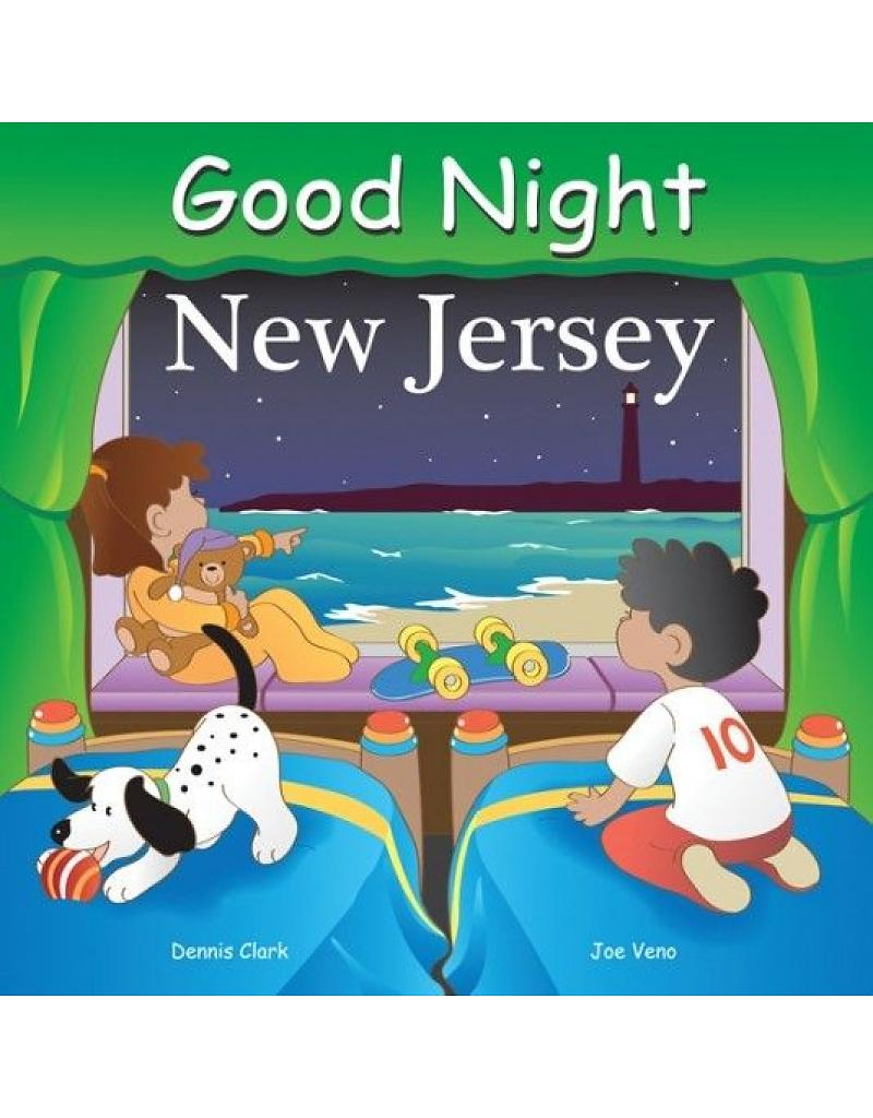 Good night new jersey childrens book gift for baby