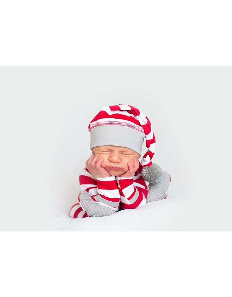 L'ovedbaby L'ovedbaby - G/S Overall Candy Cane Set