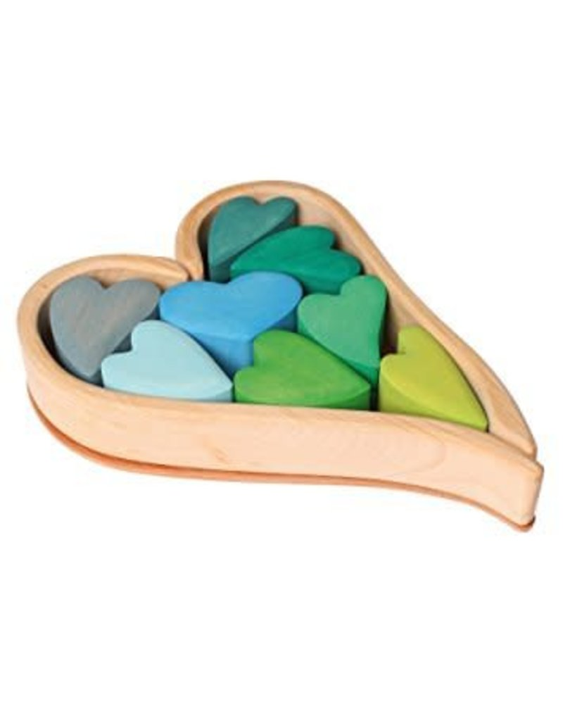 Grimm's GRIMM'S BUILDING SET HEARTS