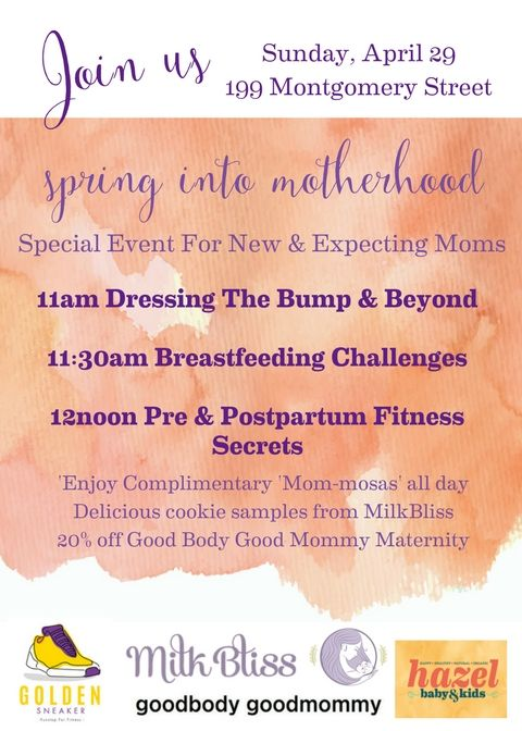 Spring Into Motherhood! Special Event for New & Expecting Mothers