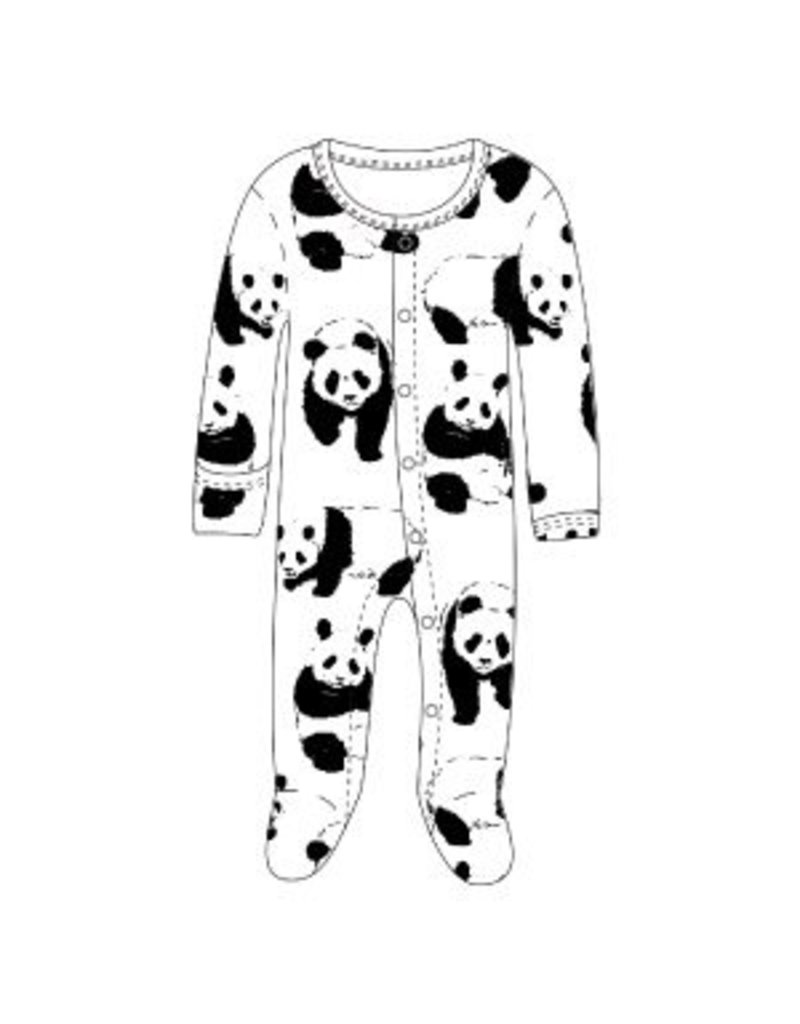 L'ovedbaby L'ovedbaby Graphic Footed Overall