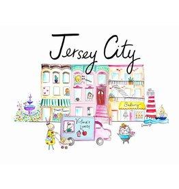 "Lady Lucas Art Lady Lucas Art Jersey City Illustration 8""x10"""