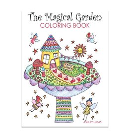 Lady Lucas Art Lady Lucas Magical Coloring Book
