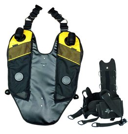 APD Back Mounted Counterlungs for APD Rebreathers