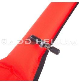 Halcyon Halcyon Diver's Alert Marker, 3.3' Long, Oral Inflate Only - Orange