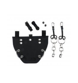 Dive Rite Nomad Buttplate and Bungees Kit