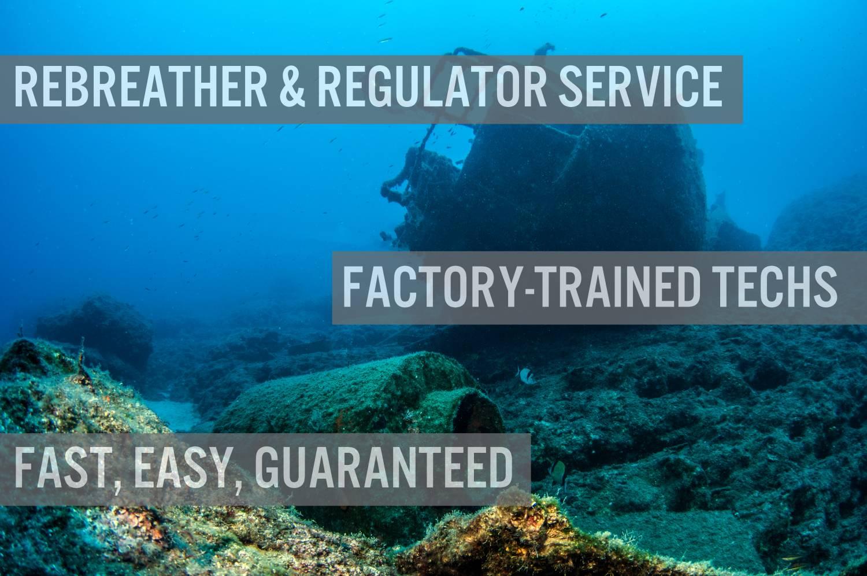 Rebreather & Regulator Service and Repair
