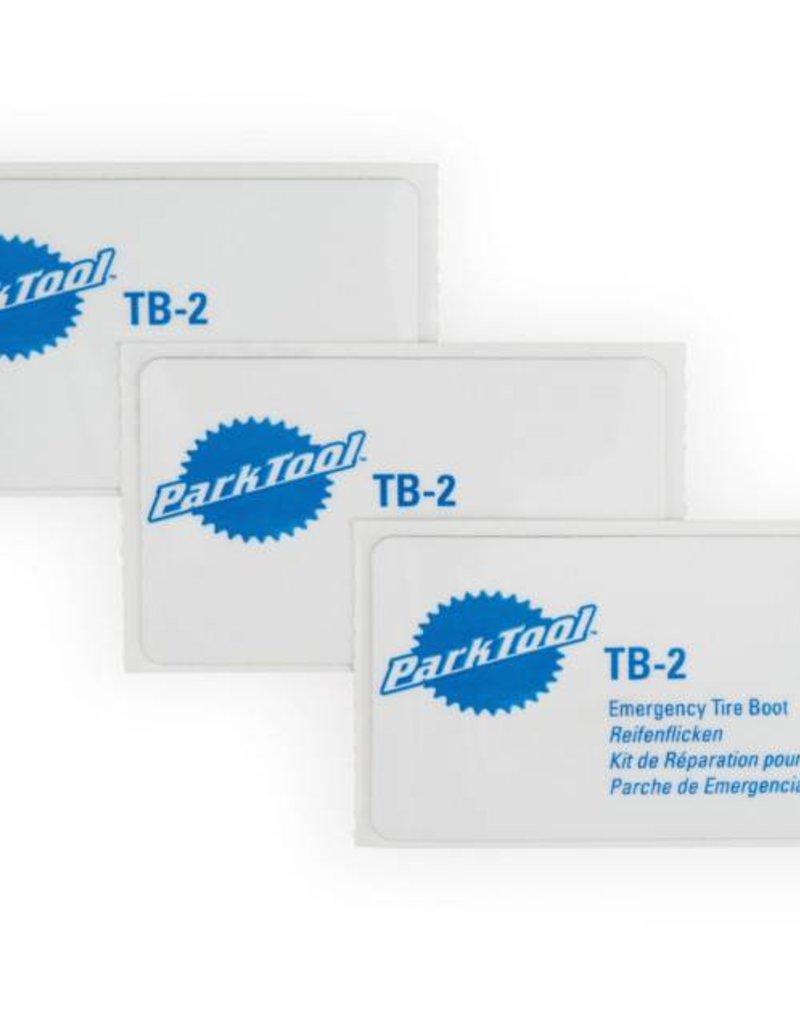 Park Tool Park Tool TB-2 Trousse de 3 emplâtres
