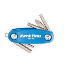 Park Tool Park Tool AWS-14 Mini clés hexagonales et Torx repliables