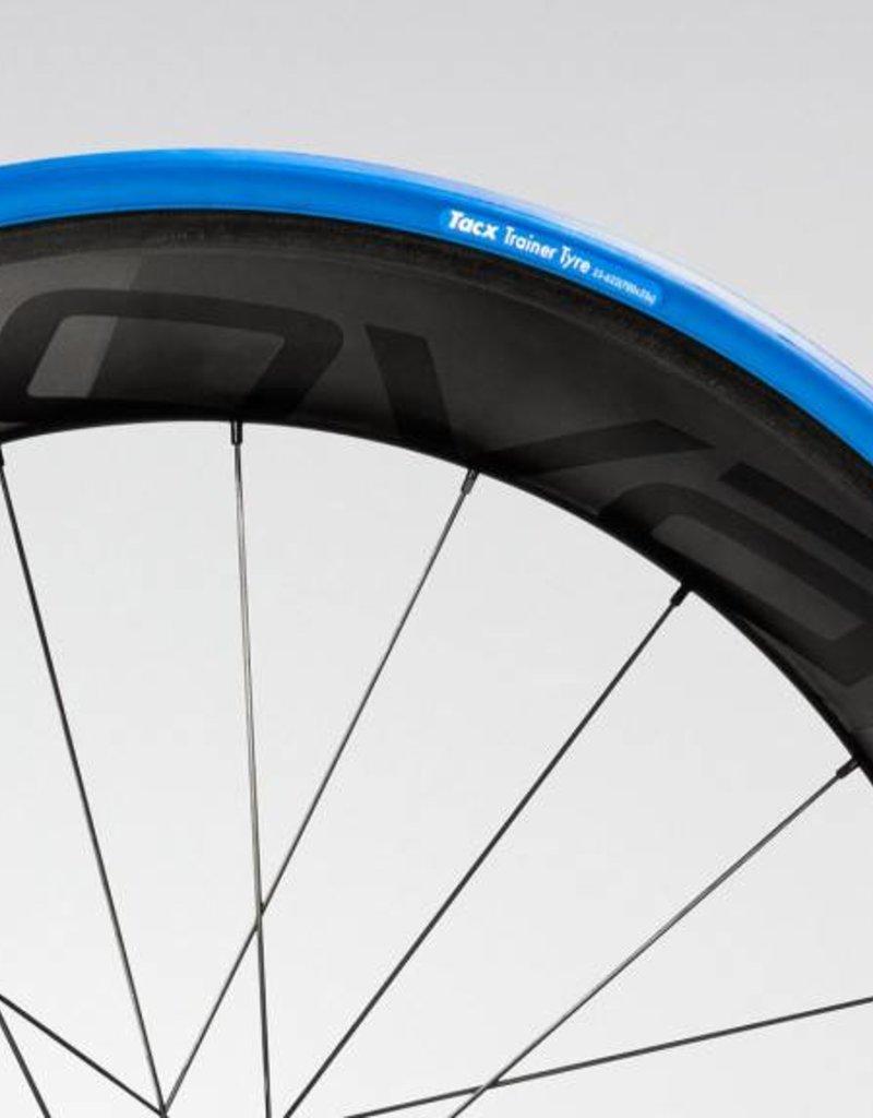 Tacx Tacx, Trainer tire, 27.5''x1.25'', Pliable, 60TPI, 80PSI, Bleu