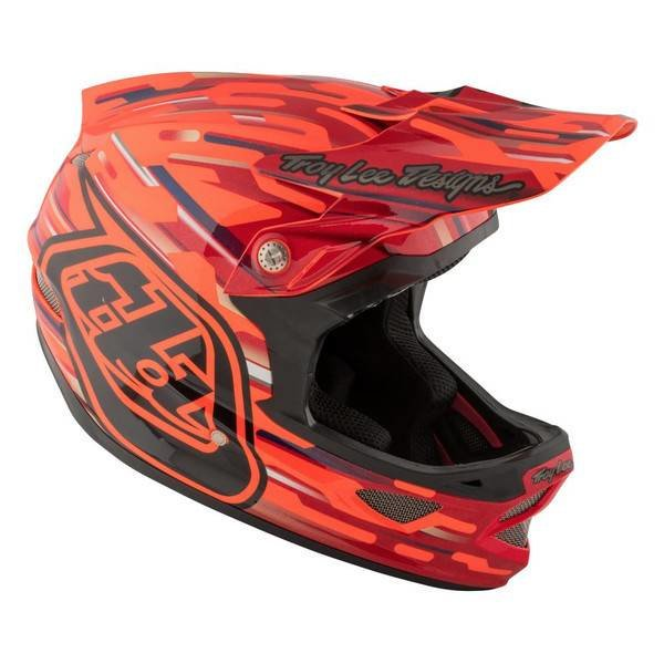 Troy Lee Design TroyLee Casque D3 composite orange L