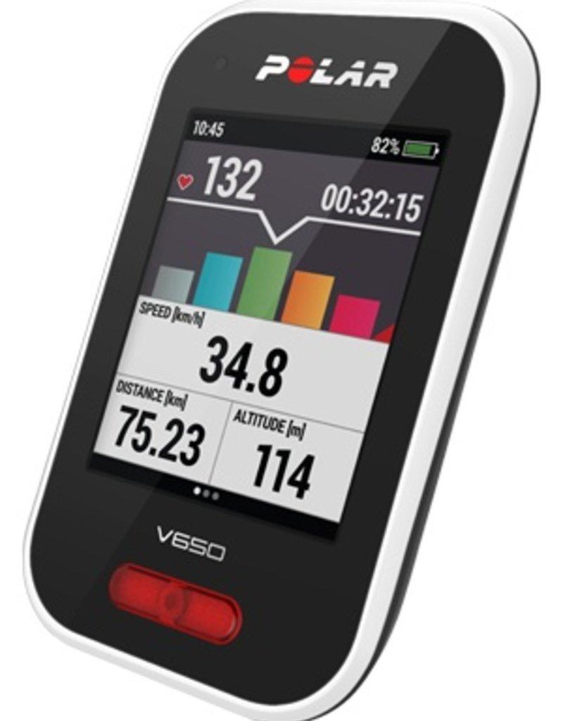 Polar GPS Vélo Polar V650 HR Combo