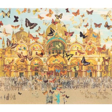 The Butterfly Man in Venice