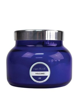 Ivy Stone Capri Blue Signature Jar in Volcano