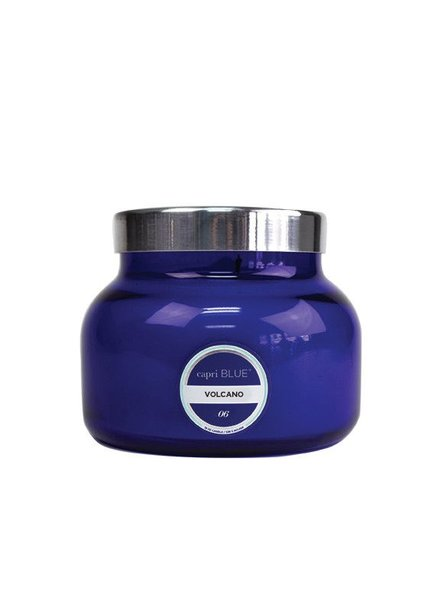 Ivy Stone Capri Blue Signature Jar in Volcano