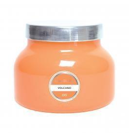 Ivy Stone Capri Blue Orange Signature Jar in Volcano