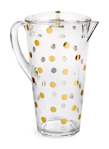 Kate Spade Gold Dot Pitcher