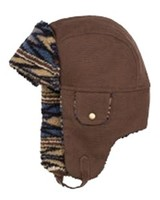 Pendleton Sherpa-Lined Canvas Trapper Hat