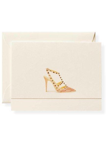Stud Shoe Note Card