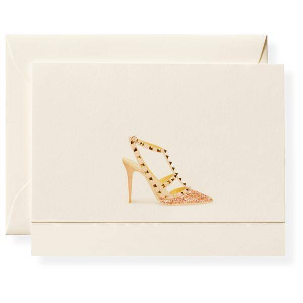Stud Shoe Note Card