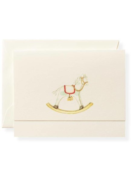 Rocking Horse Note Card