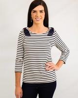 Hello Sailor Striped Blouse